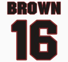 NFL Player Philly Brown sixteen 16 by imsport