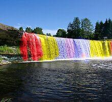 Rainbow Waterfall by jmoney1119