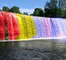 Rainbow Waterfall Sticker