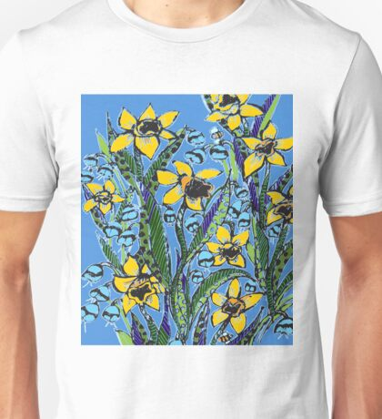 Daffodil dreaming in HUGE dimensions Unisex T-Shirt