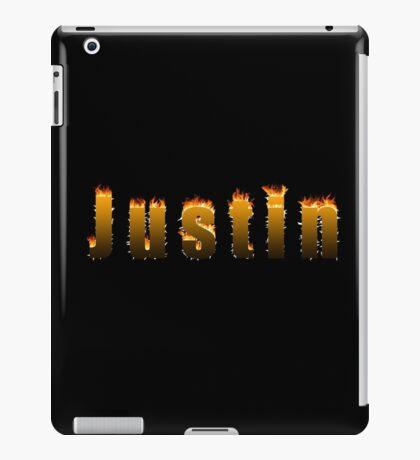 Justin Fire iPad Case/Skin