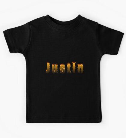 Justin Fire Kids Tee