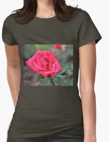 Solitaire Womens Fitted T-Shirt
