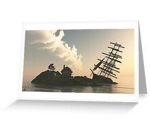 Le Dernier Voyage Greeting Card