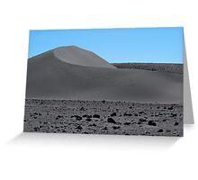 Grey Sand Dune  Greeting Card