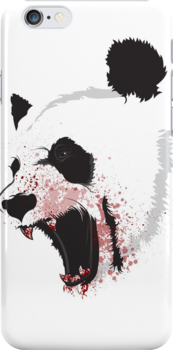 Syko Panda Phone Case by SykoGraphx