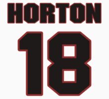 NFL Player Julian Horton eighteen 18 by imsport