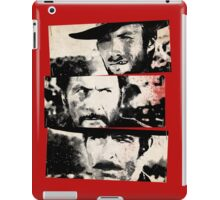 the good,the bad,and the ugly iPad Case/Skin