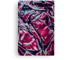 Crushed Car Texture Canvas Print