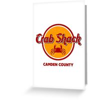 Crab Shack: Camden County Greeting Card