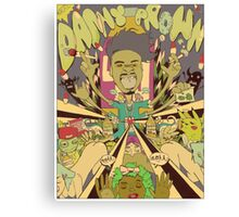 DANNY BROWN Canvas Print
