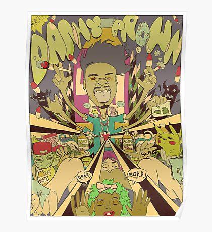 DANNY BROWN Poster