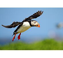 Prepare yourself......It looks like it could be a Puff landing!! Photographic Print