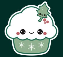 Cute Christmas Cupcake by sugarhai