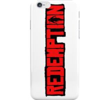 Redemption iPhone Case/Skin