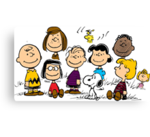 Peanuts all the best Canvas Print