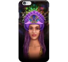 Expression of the Melancholy Princess iPhone Case/Skin