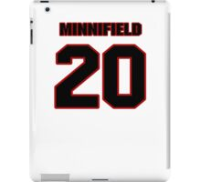 NFL Player Chase Minnifield twenty 20 iPad Case/Skin