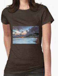 Ventnor Surfers Sunset Womens Fitted T-Shirt