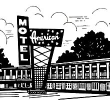 AMERICAN MOTEL by RETROADS