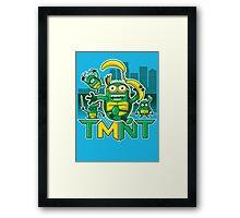 Teenage Minion Ninja Turtles Framed Print