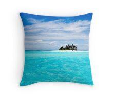 Island of Dreams - Cocos (Keeling) Islands Throw Pillow