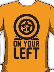 On Your Left on a Unisex Tank Top T-Shirt