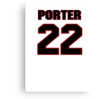 NFL Player Tracy Porter twentytwo 22 Canvas Print