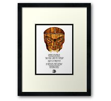 Buffy - Dead Man's Party Framed Print
