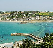 Marazion From St Michael's Mount by Rod Johnson