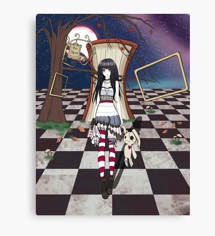 Dark Wonderland Canvas Print