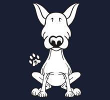 English Bull Terrier 1 One Piece - Long Sleeve