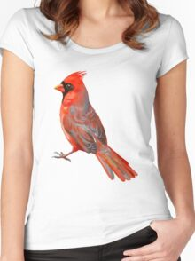 Cardinal Women's Fitted Scoop T-Shirt