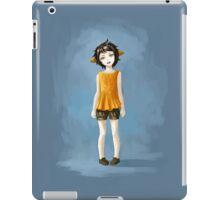 Girl in Shorts iPad Case/Skin