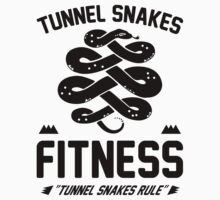 Tunnel Snakes Fitness by printproxy
