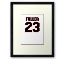 NFL Player Kyle Fuller twentythree 23 Framed Print