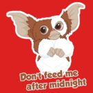 Don't feed me after midnight by talkpiece