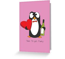 Love Penguin Greeting Card