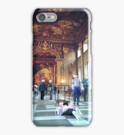 Greenwich Royal Navy Hall iPhone Case/Skin