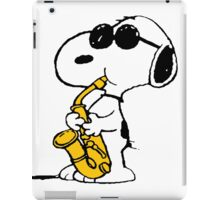 Snoopy sax iPad Case/Skin