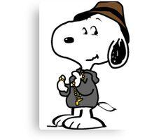 Snoopy YO Canvas Print