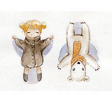Snow Angels Photographic Print