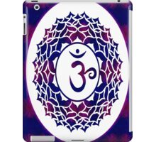 Crown Chakra Abstract Spiritual Artwork  iPad Case/Skin
