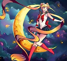 Pretty Soldier Sailor Moon by goldenapple
