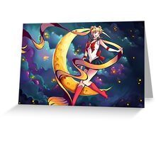 Pretty Soldier Sailor Moon Greeting Card