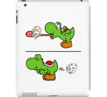 Yoshi swallows Togepi iPad Case/Skin