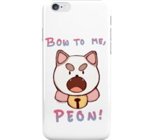 Bee and Puppycat - BOW TO ME iPhone Case/Skin