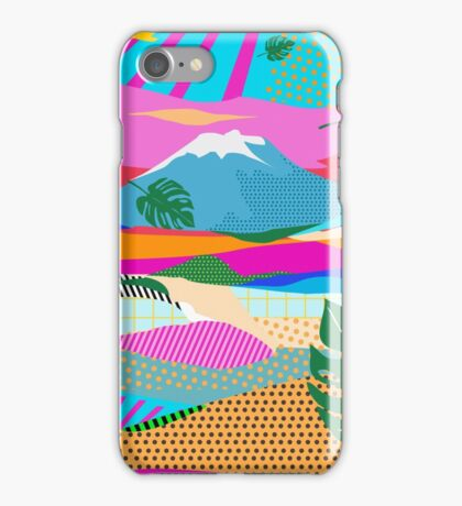 beautiful colors scenery iPhone Case/Skin