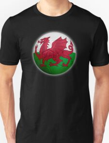 Wales - Welsh Flag - Football or Soccer 2 T-Shirt