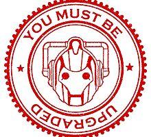 Cybermen Rubber Stamp by kayve